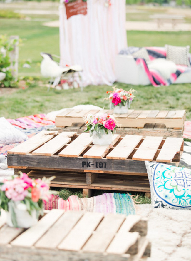 Bright Bohemian Baby Shower Inspired By This