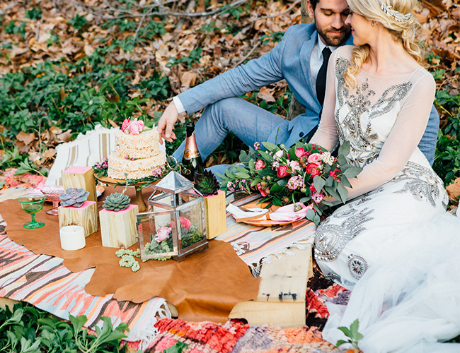 Woodsy Bohemian Elopement - Inspired by This