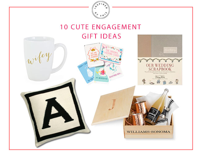 10 Cute Engagement Gift Ideas - Inspired by This