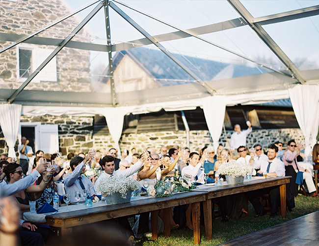 Tips for Making a Big Wedding Feel Intimate - Inspired by This