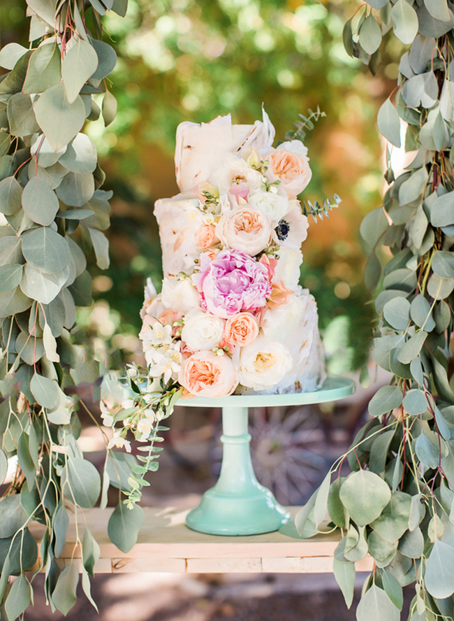 Peach & Mint Garden Wedding - Inspired by This