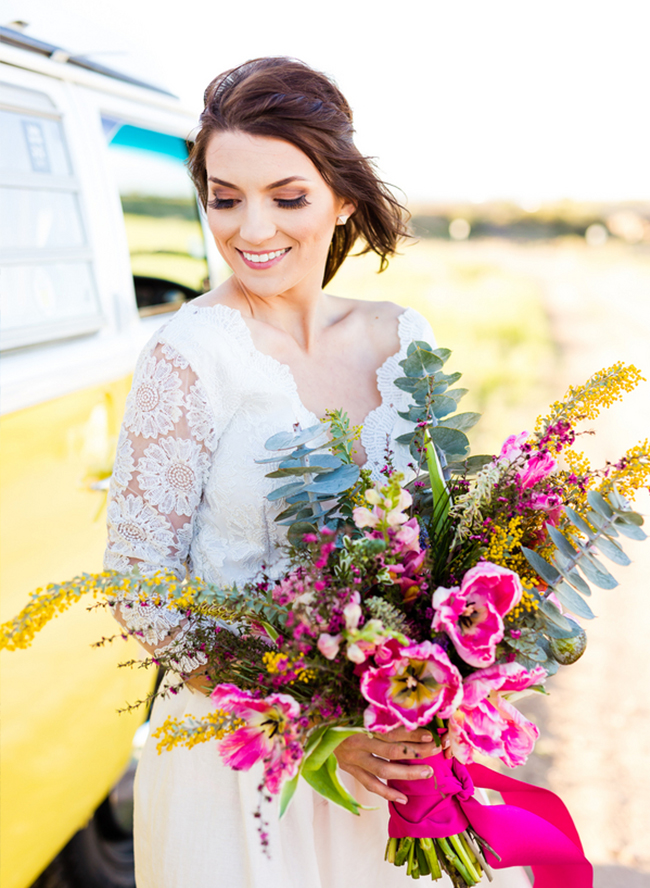 Vintage Yellow Elopement at Sunrise - Inspired by This