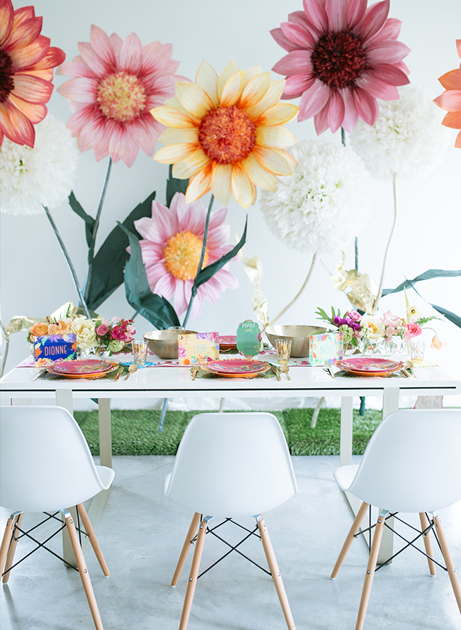 A Bright Floral Girl Boss Brunch - Inspired by This