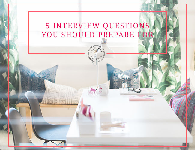 5 Interview Questions You Should Prepare For from Wedding PR - Inspired by This