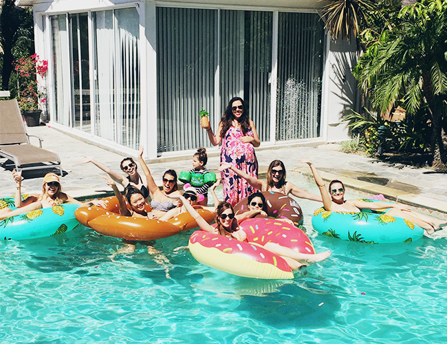 How to Host the Perfect End of Summer Pool Party - Inspired by This