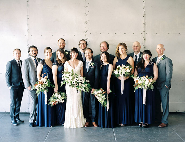 Downtown Los Angeles Loft Wedding - Inspired by This