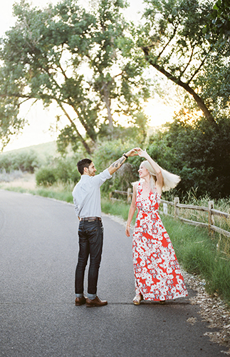 Romantic & Stylish Engagement Photo Inspiration - Inspired by This