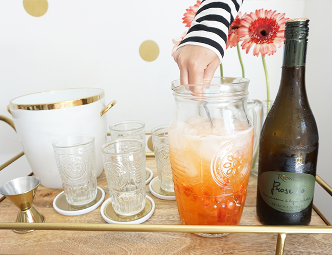 Strawberry Orange Spritzer Recipe - Inspired by This