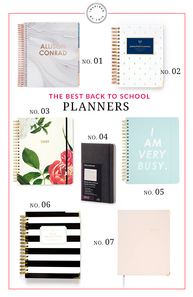 The Best Back to School Planners - Inspired by This