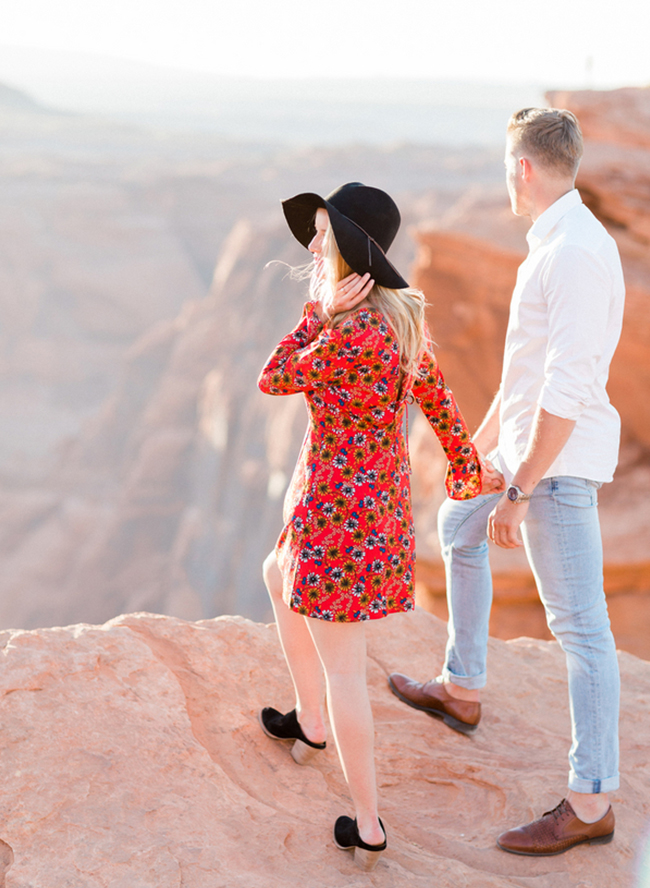 Horseshoe Bend Engagement Photos - Inspired by This