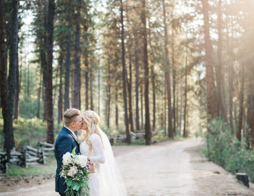 Rustic Barn Wedding in the Woods - Inspired by This