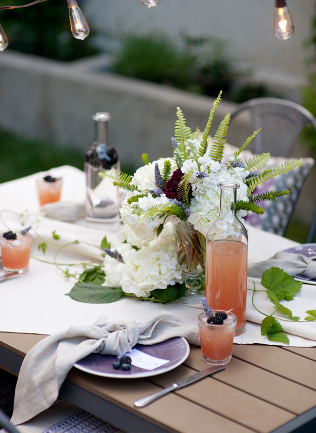 Lavender Backyard Bridal Shower - Inspired by This