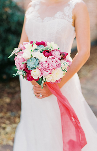 Romantic Red & Gold Mexican Wedding Inspiration - Inspired by This