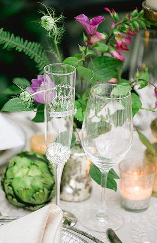 Elegant Black & White Wedding - Inspired by This