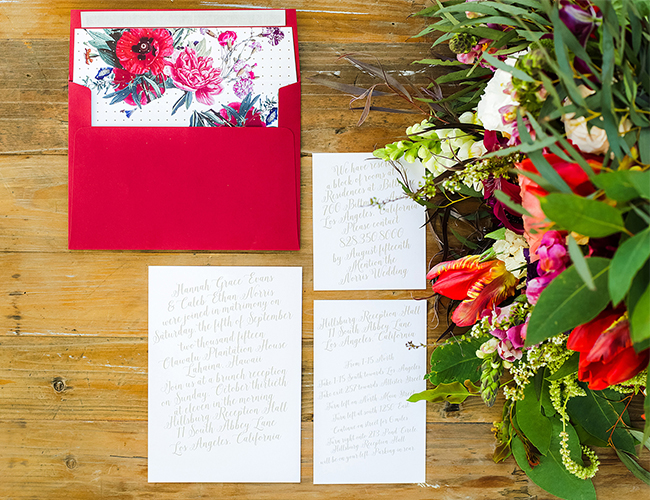 The 5 Prettiest Wedding Stationery Trends - Inspired by This