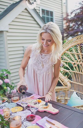 Summertime Wine Tasting Dinner Party - Inspired by This