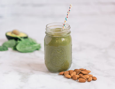 Creamy Green Smoothie Recipe - Inspired by This