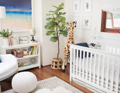 Alex Murrel's Grey & Blue Baby Boy Nursery - Inspired by This