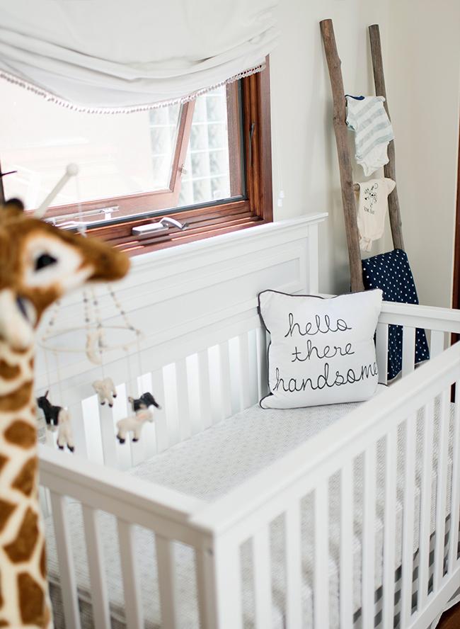 Alex Murrel's Grey & Blue Baby Boy Nursery - Inspired by This