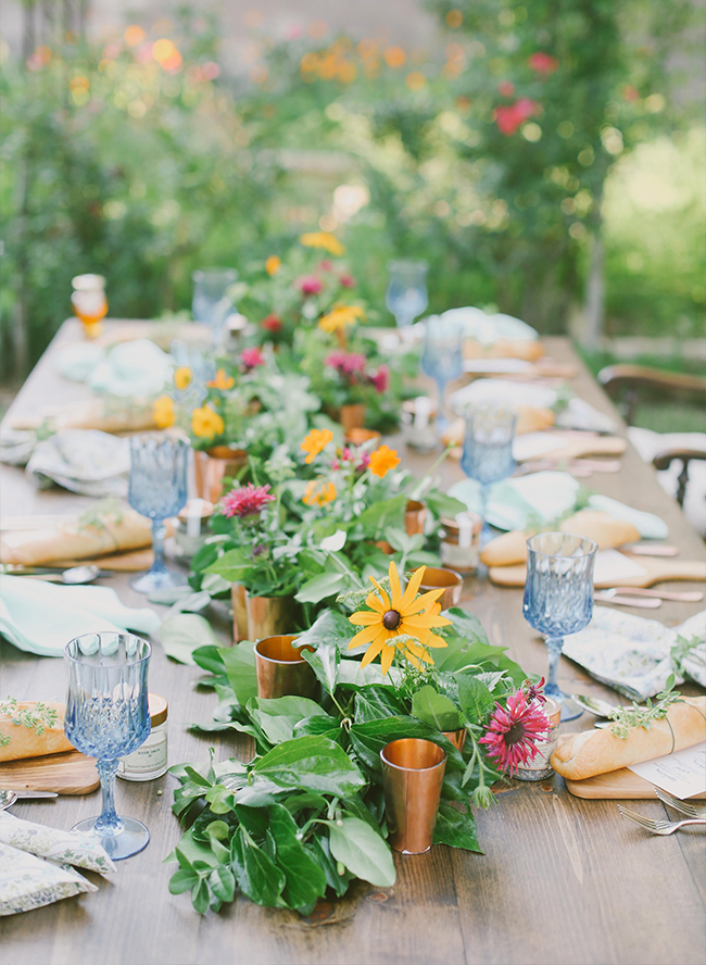 Backyard Farm to Table Dinner Party - Inspired by This