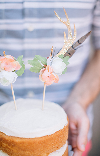 Boho Bambi First Birthday Party - Inspired by This
