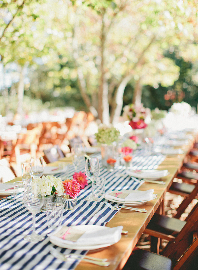 15 Striped Wedding Details - Inspired by This