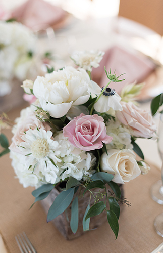 charming pink and gold bridal shower inspired by this