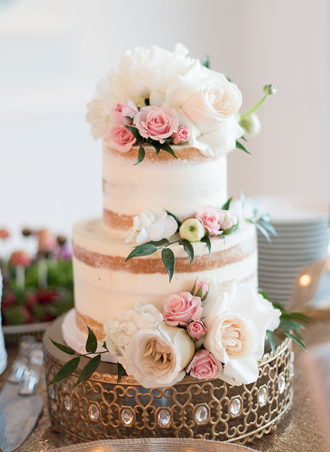 Charming Pink Amp Gold Bridal Shower Inspired By This
