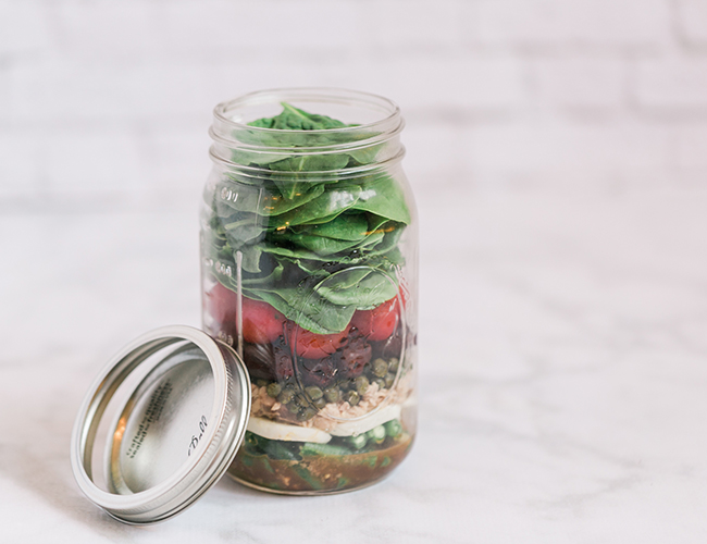 On the Go Salad Recipes Perfect for Back to School - Inspired by This
