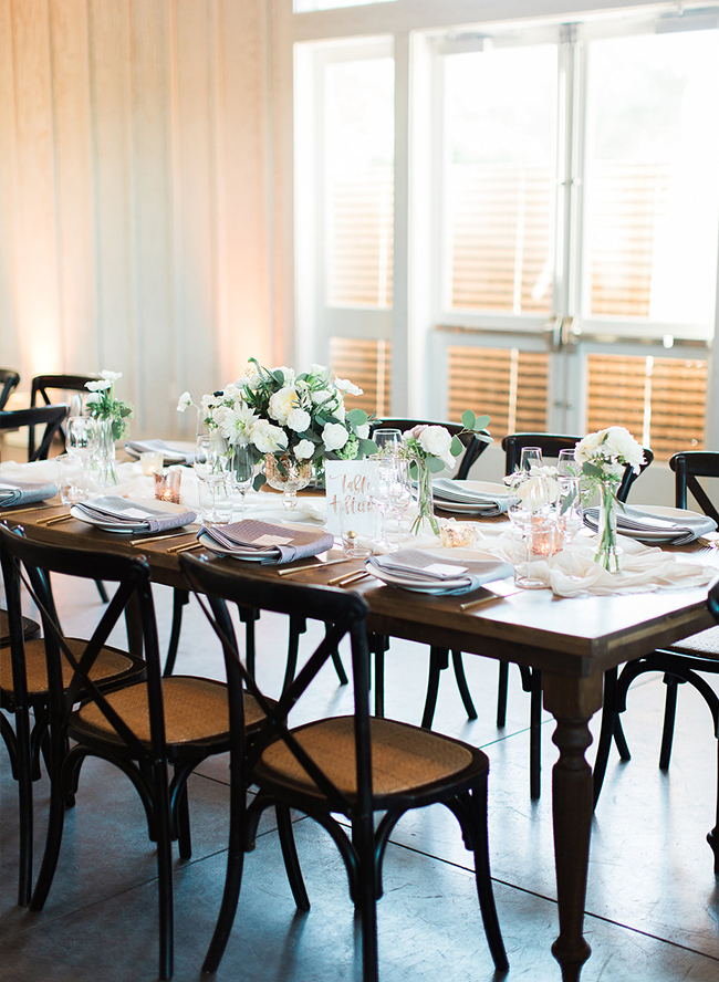 Rustic White Sonoma Wedding - Inspired by This