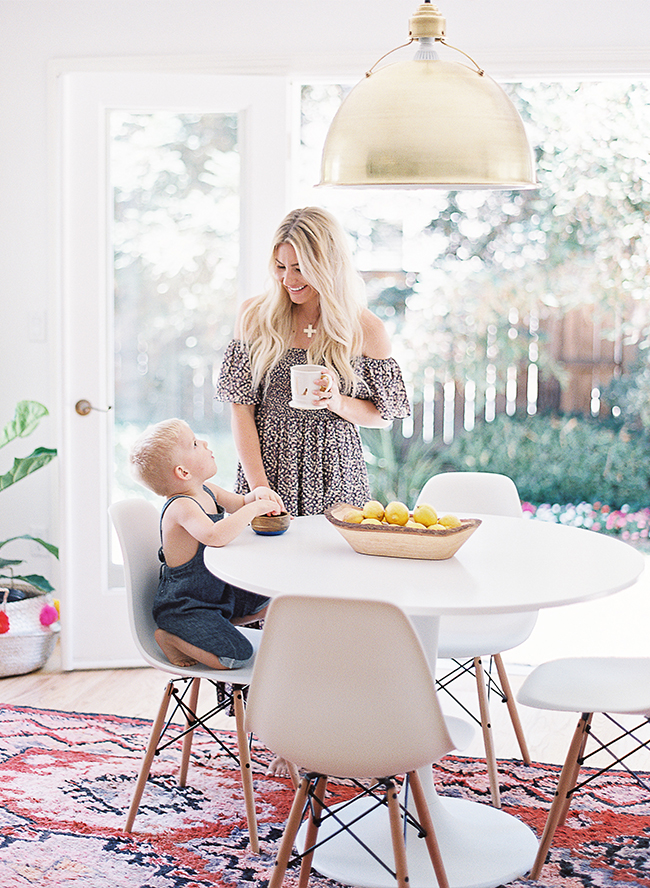 Mother Son Photos at Home with Lauren Peelman - Inspired by This