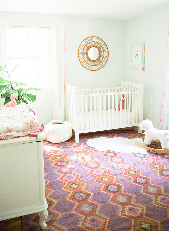 Pink & Purple Bohemian Nursery - Inspired by This