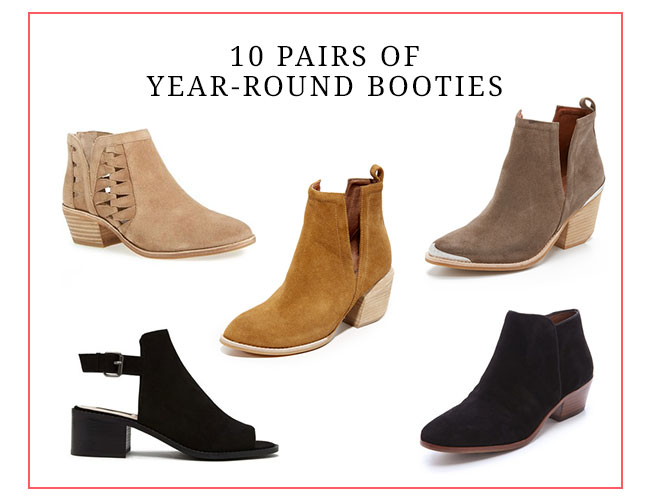 10 Year Round Booties to Buy Now - Inspired by This