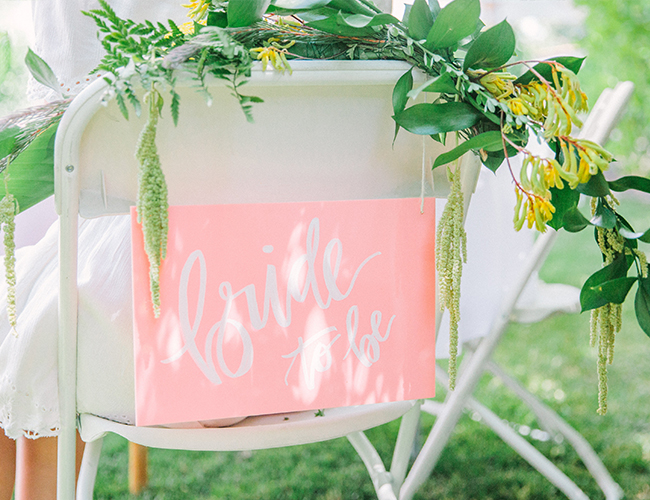 9d73c670e9a8 ... This Pink   Yellow Tropical Bridal Shower - Inspired by ...