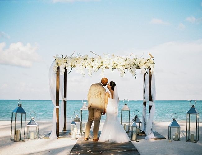Beachfront Destination Wedding in Punta Cana - Inspired by This