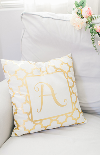 A Girly Nursery With Bohemian Accents Inspired By This