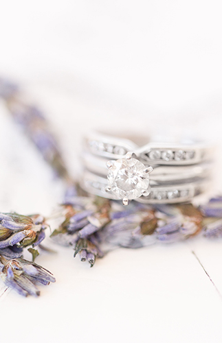 Lavender Field Vow Renewal in Italy - Inspired by This