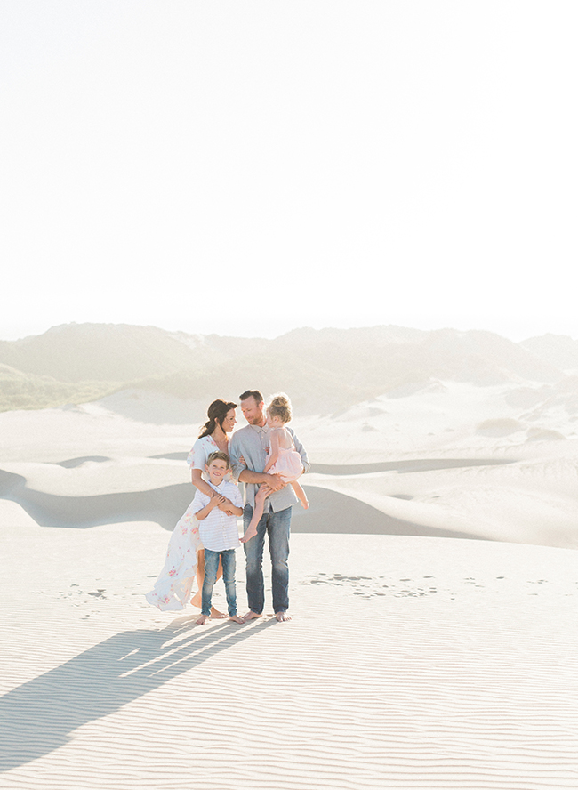Sweet Sand Dune Family Photos - Inspired by This