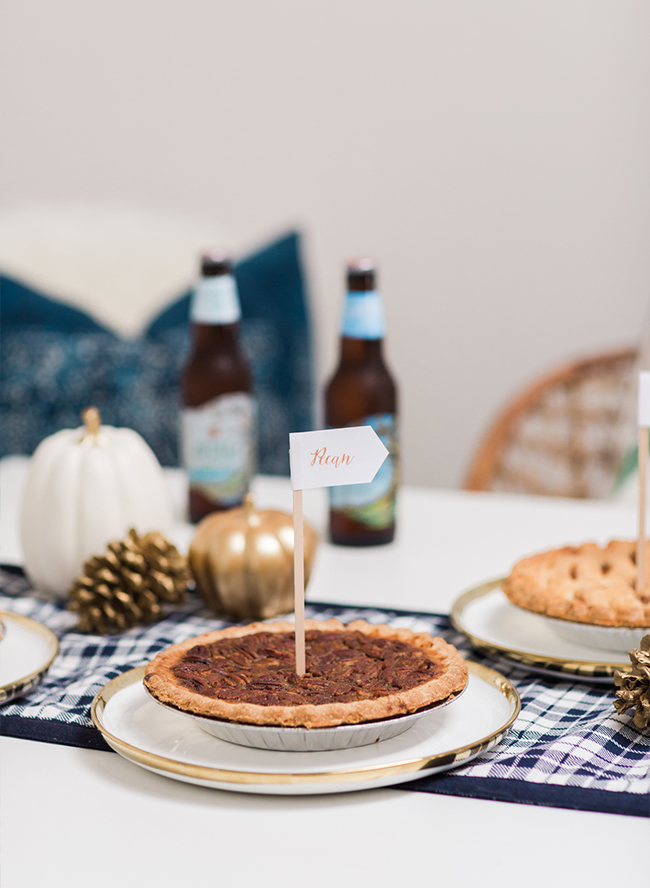 A Perfect for Fall Cider and Pie Pairing Party - Inspired by This