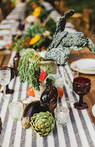 Fall Italian Themed Dinner Party - Inspired by This