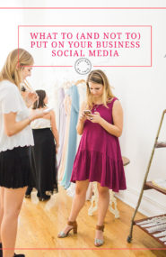 What to and not to put on your business social media - Inspired by This