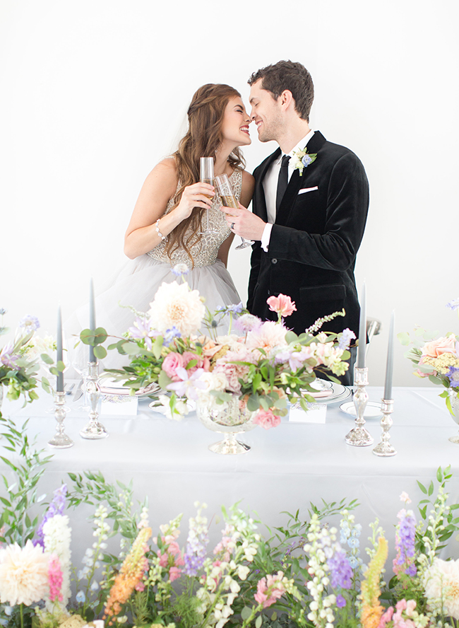 Lush Garden Wedding Inspiration - Inspired by This
