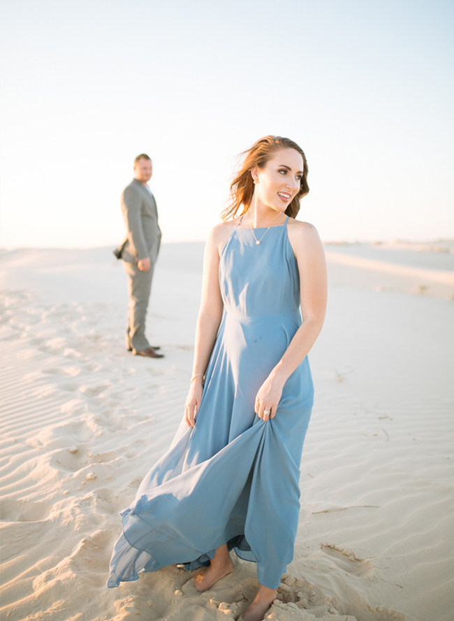 First Anniversary Photos in the Sandhills - Inspired by This