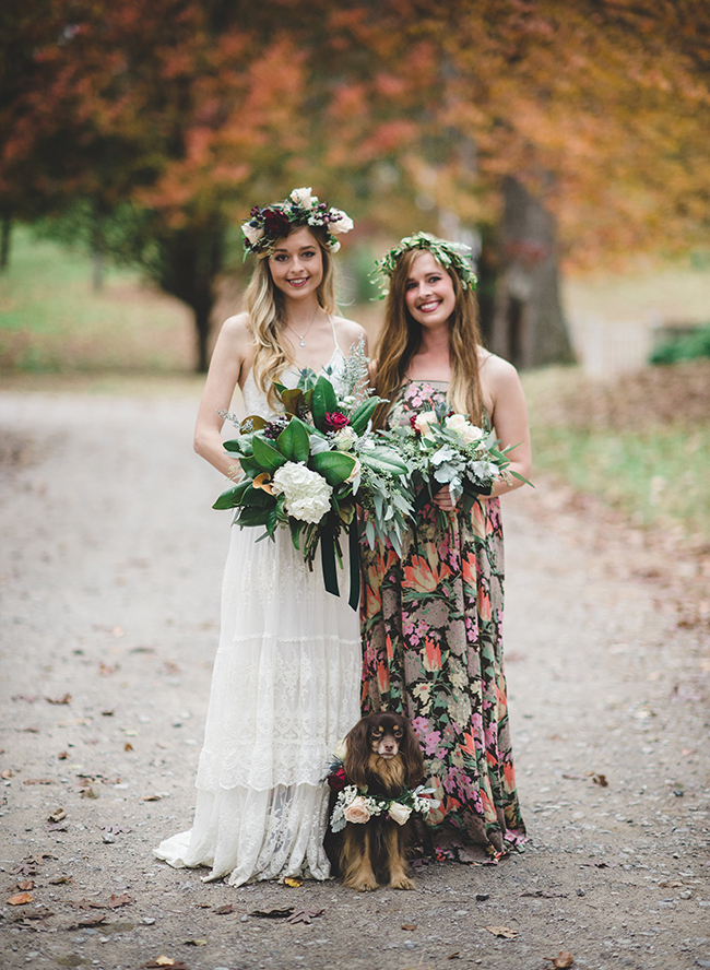 Vintage Fall Wedding Inspiration in Alabama - Inspired by This