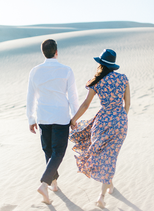 Colorado Sand Dunes Engagement Photos - Inspired by This