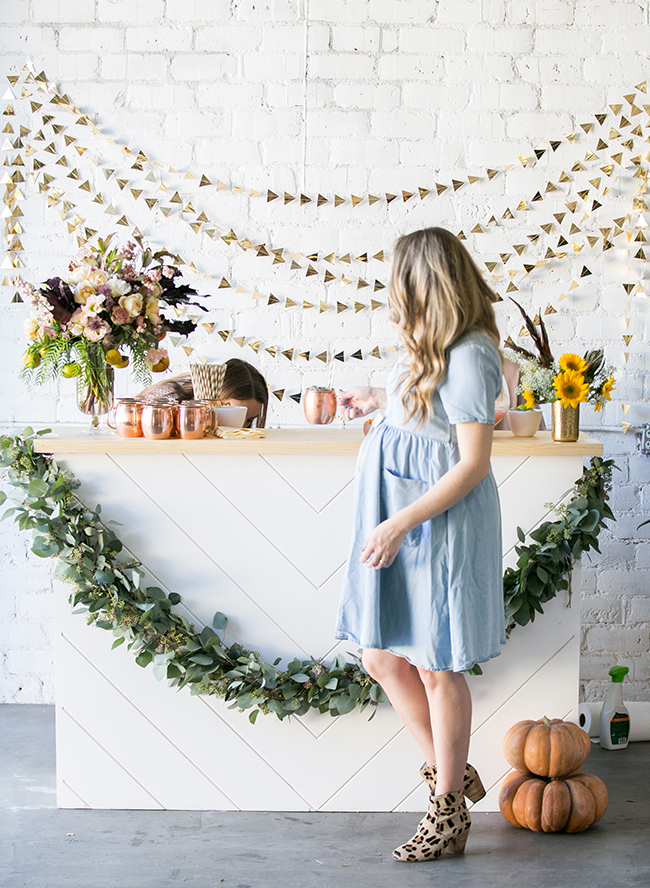Sugar & Charm's Fall Baby Shower - Inspired by This