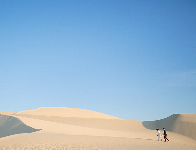 Desert Dunes Elopement - Inspired by This