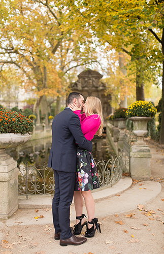 A Surprise Proposal in Paris - Inspired by This