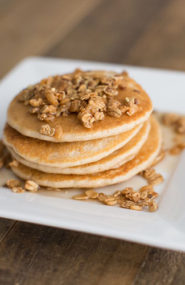 Guilt Free Pumpkin Protein Pancakes - Inspired by This