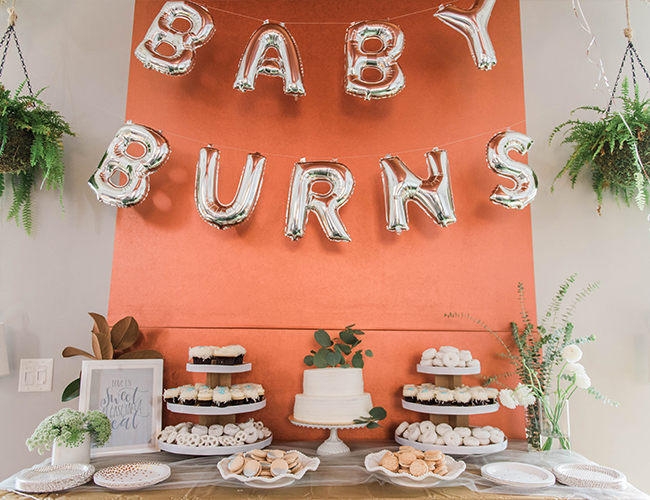 Metallic Winter Baby Shower - Inspired by This